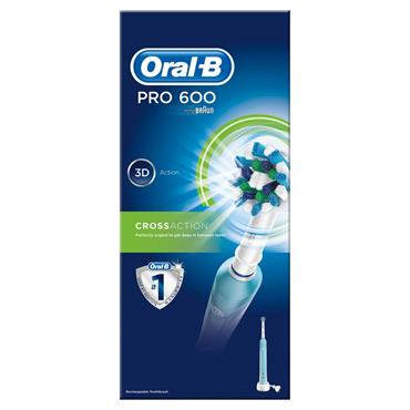 ORAL B PRO 600 ELECTRIC TOOTHBRUSH