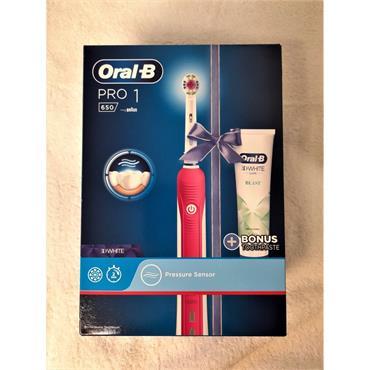 ORAL B PRO1 650 PINK EDT TBRUSH