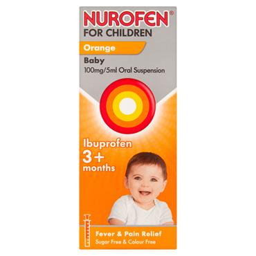 NUROFEN FOR CHILDREN ORAL SUSPENSIO
