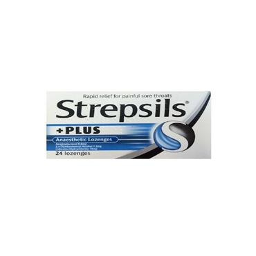 STREPSILS PLUS LOZENGES