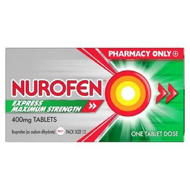 NUROFEN EXPRESS 400MG 12S 12S