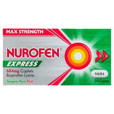 NUROFEN EXPRESS 400MG 24S 24S