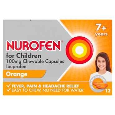 NUROFEN FOR CHILDREN 7+ SOFT CHEWS