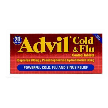 ADVIL COLD & FLU TABLETS 20S