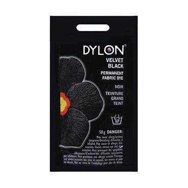 DYLON HAND DYE INTENSE BLACK 1