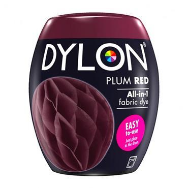 DYLON POD PLUM RED MACHINE DYE 350G