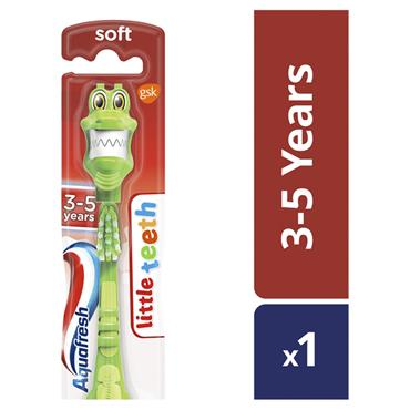 AQUAFRESH LITTLE TEETH T/BRUSH 3-5