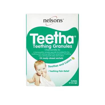 NELSONS BABY TEETHA GRANULES 24S