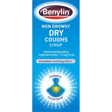 BENYLIN DRY COUGH NON-DROWSY SYRUP 125ML