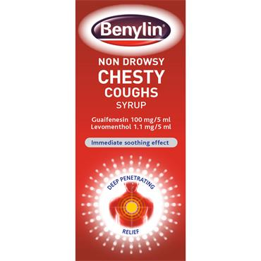 BENYLIN CHESTY NON-DROWSY SYRUP 125ML