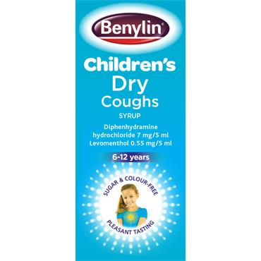 BENYLIN CHILDRENS DRY COUGH SYRUP 125ML