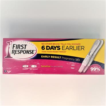FIRST RESPONSE EARLY RESPONSE 2 TESTS