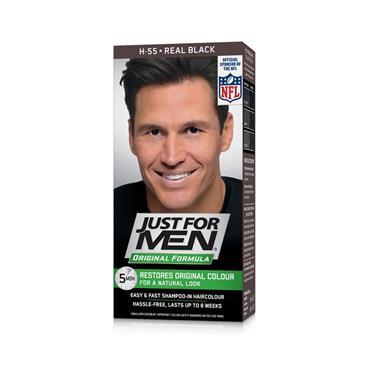 JUST FOR MEN HAIR REAL BLACK H55