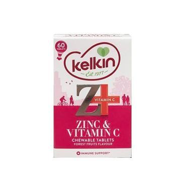KELKIN ZINC & VITAMIN C CHEWABLE 60S