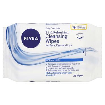 NIVEA REFRESHING FACIAL CLEANSING W