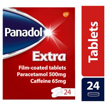 PANADOL EXTRA TABLETS 24S