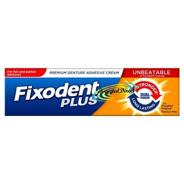 FIXODENT PLUS (DUAL POWER) 40G