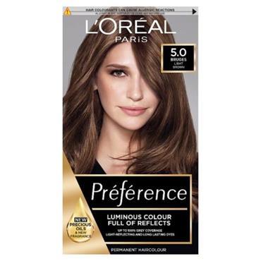 LOREAL PREFERENCE BRUGES 5.0 LIGHT BROWN