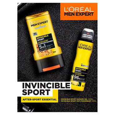 LOREAL MENS SET INVINCIBLE SPORT