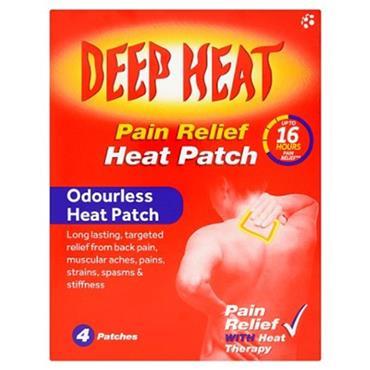 DEEP HEAT WELL PATCH 4 PACK