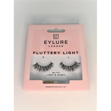EYLURE FLUTTERY LIGHT No 117 LASHES