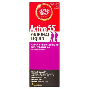 SEVEN SEAS ACTIVE 55 COD LIVER OIL