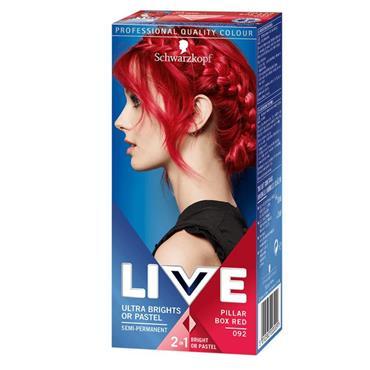SCHWARZKOPF LIVE ULTRA BRIGHTS PILLAR BOX RED