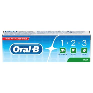 ORAL B 123 TOOTHPASTE