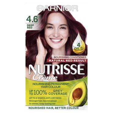 NUTRISSE HAIRCOLOUR DEEP RED 4.6 1