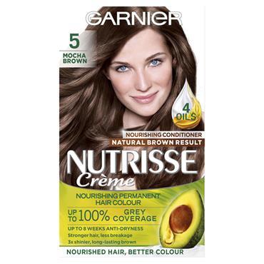 GARNIER NUTRISSE 5.0 MOCHA BROWN