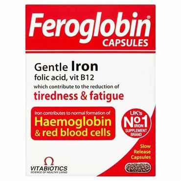 VITABIOTICS FEROGLOBIN B12 CAPS V20