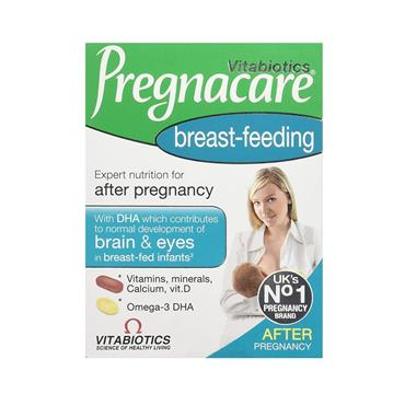 VITABIOTICS PREGNACARE BREAST FEED