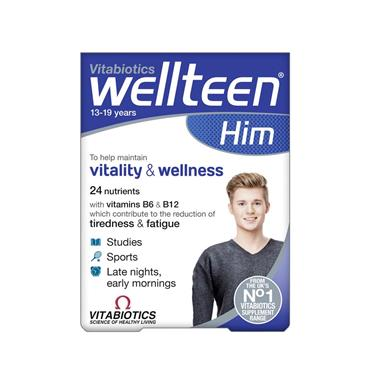 VITABIOTIC WELLTEEN HIM 30 TAB