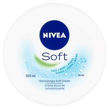 NIVEA SOFT MOISTURISING CREAM 500ML