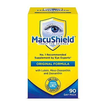 MACUSHIELD EYE SUPPLEMENT CAPSULES