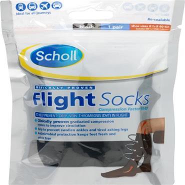 SCHOLL FLIGHT SOCKS COTTON 6.5-9