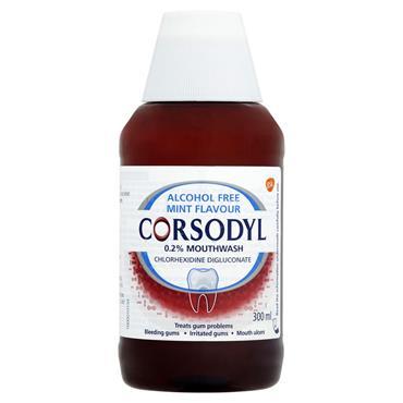 CORSODYL 0.2% MINT MOUTHWASH