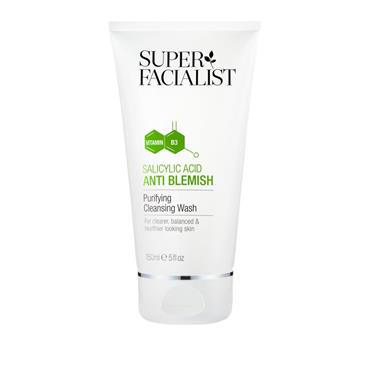 SUPER FACIALIST SALICYLIC ACID ANTI-BLEMISH CLEANSING WASH 150ML