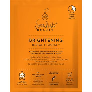 SEOULISTA BRIGHTENING INSTANT FACIAL MASK