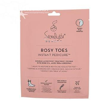 SEOULISTA ROSY TOES PEDICURE