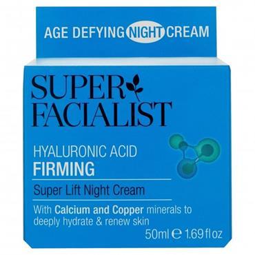 SUPER FACIALIST HYALURONIC ACID FIRMING NIGHT CREAM 50ML