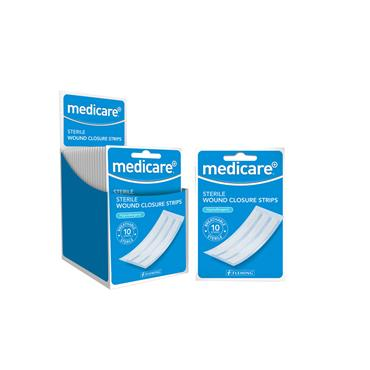 MEDICARE WOUND CLOSURE STRIPS MD10