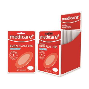 MEDICARE BURN PLASTERS 6S MD190