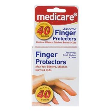 MEDICARE FINGER COTS ASSORTED 40S