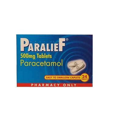 PARALIEF 500MG TABLETS X 24