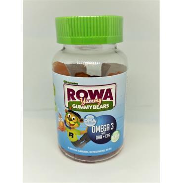 ROWA GUMMY BEARS OMEGA 3 60S