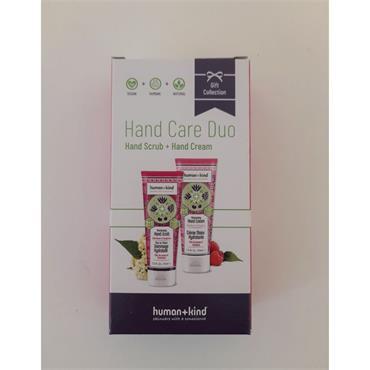 HUMAN+KIND HAND CARE DUO SCRUB/CREAM
