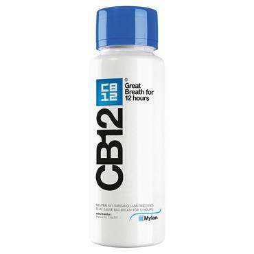CB12 MOUTHWASH MINT BLUE