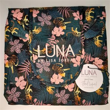 LUNA BEAUTY BAG FLORAL LEOPARD
