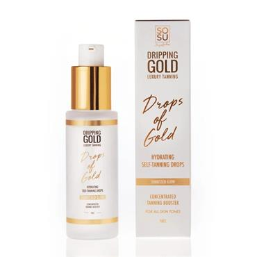 SOSU DRIPPING GOLD DROPS OF GOLD SELF TANNING